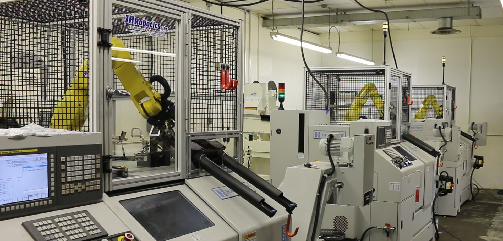Machine Tending Robots Jhr 150 Jh Robotics Inc
